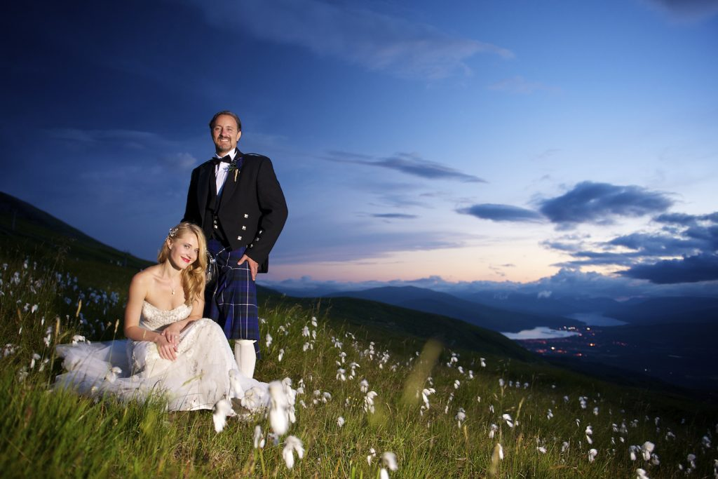 New York fairytale at Nevis Range