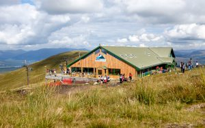 food and drink at Nevis Range Snowgoose Restaurant