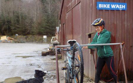 Bike Wash Nevis Range