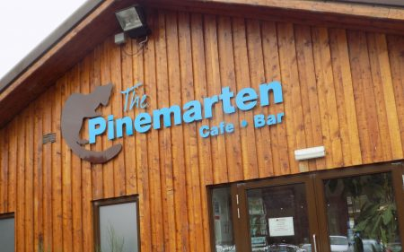 food and drink at Nevis Range at Pinemarten Cafe Bar