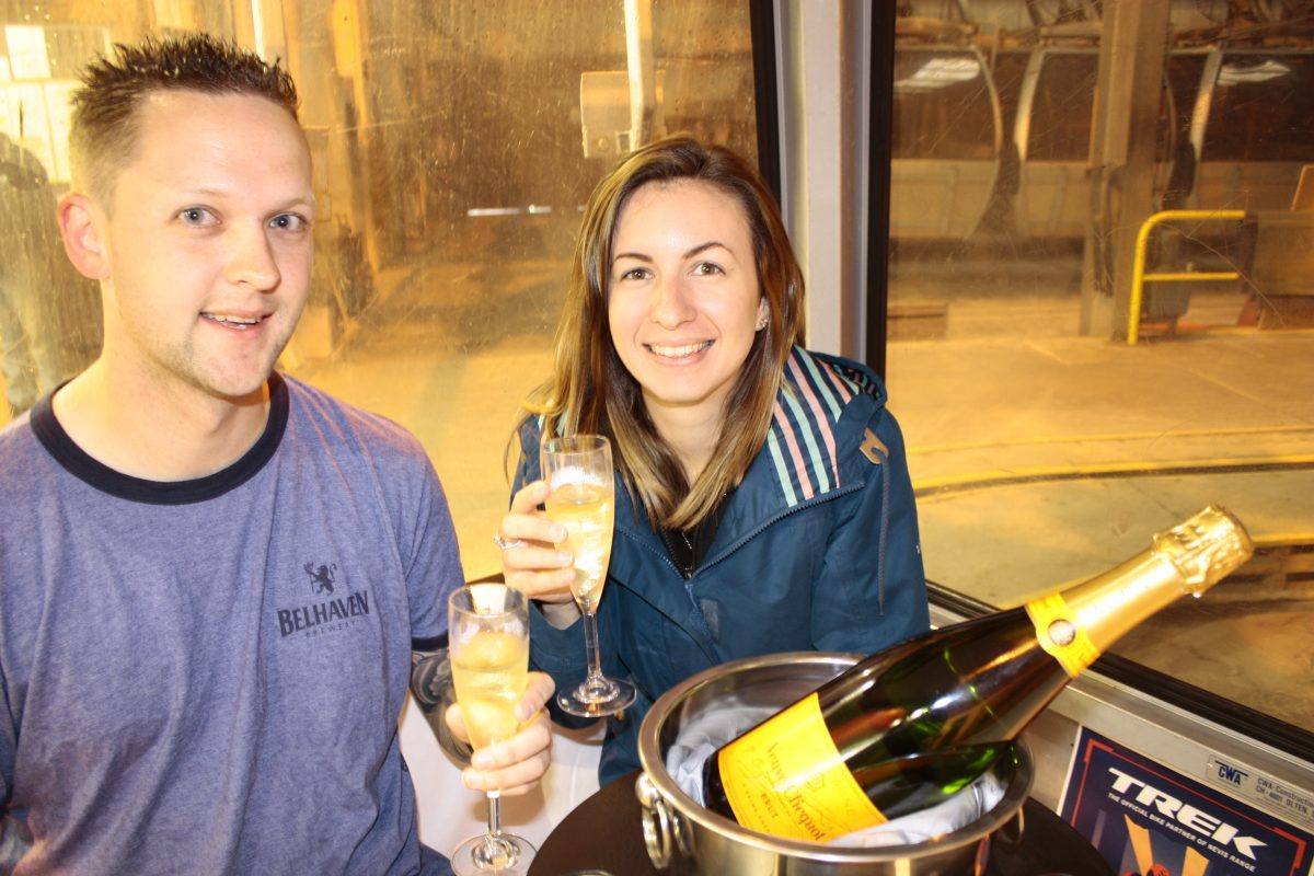 Champagne Gondola Experience