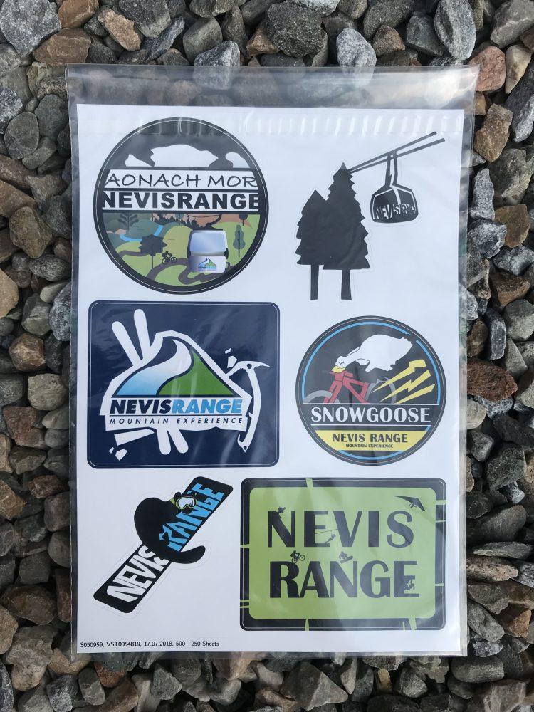 Nevis Range Stickers £2.00
