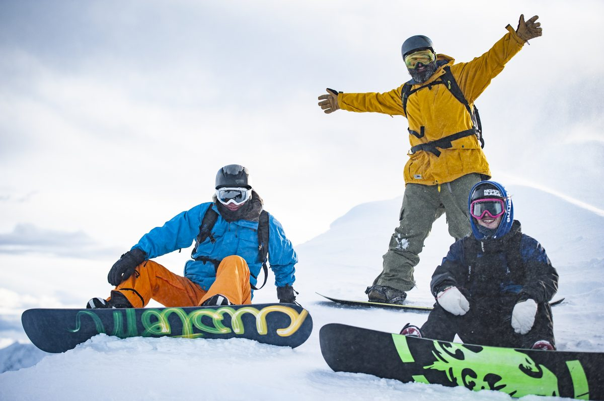 Skiing and Snowboarding (available Jan-March)